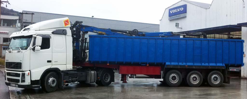 Transporte Gestión de Residuos servicios